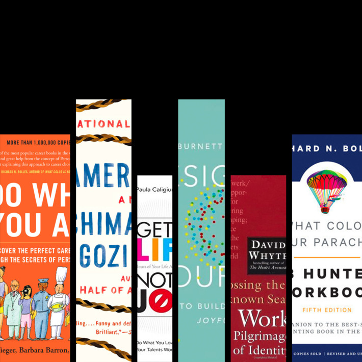 six books for those looking to make a career change designing your